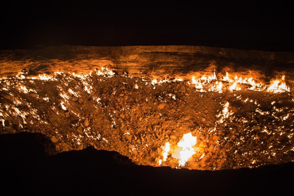The Door to Hell – Darvasa Gas Crater – Karakum Desert, Turkmenistan