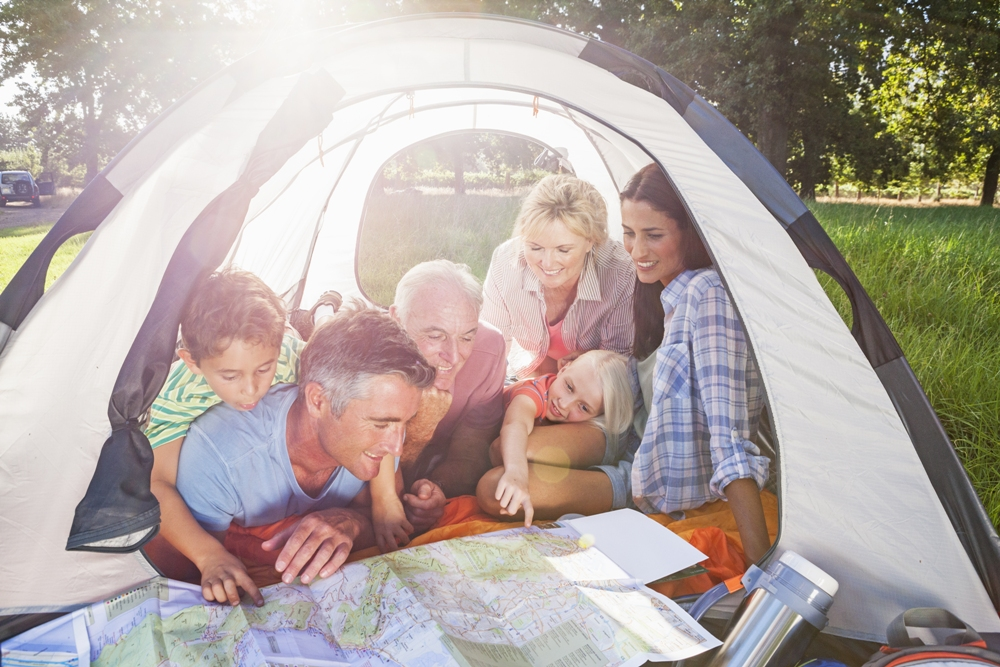 Get Your Family to Unplug – Go Camping!