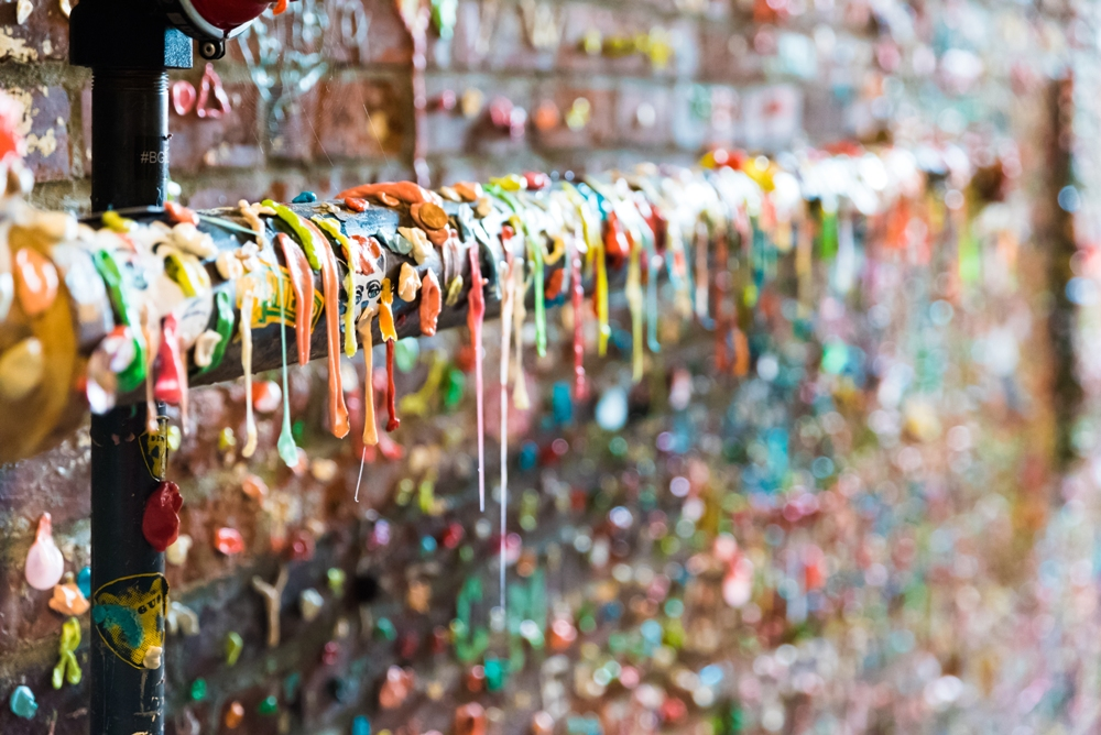 The Gum Wall – Seattle, Washington