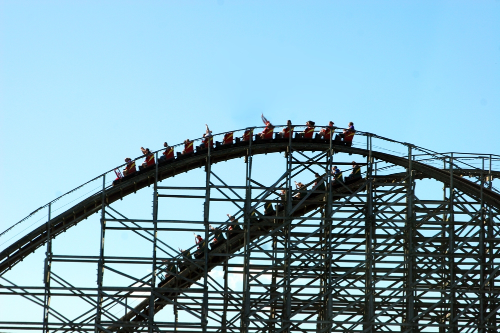Top Four Wooden Roller Coasters in the US