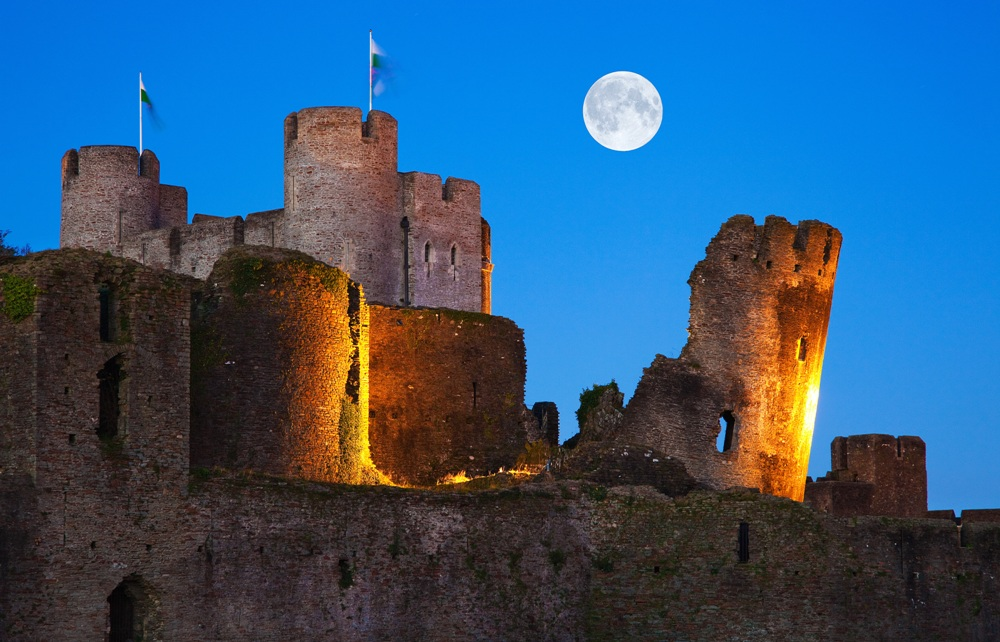 Top 4 Castles to Visit on Your Vacation to Wales