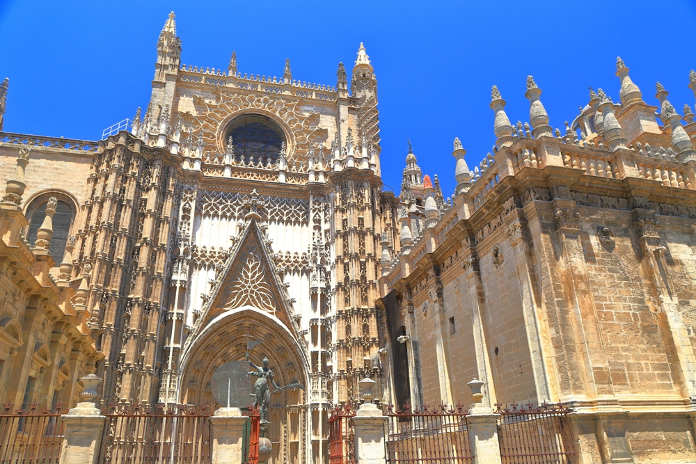 Visit Seville Cathedral's La Giralda in Sevilla, Spain
