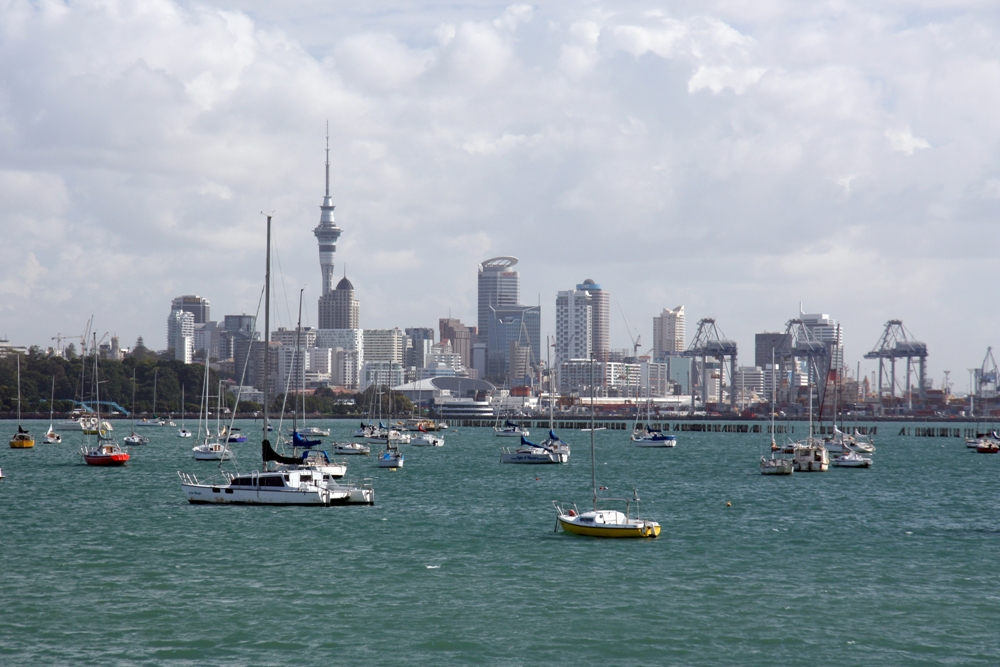 Visiting Auckland, New Zealand in Summer